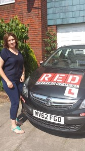 Elena Tanasa RED driving school instructor